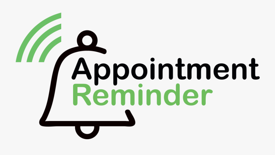 Sms Reminders For New Zealand Businesses - Appointment Reminder Logo Png, Transparent Clipart