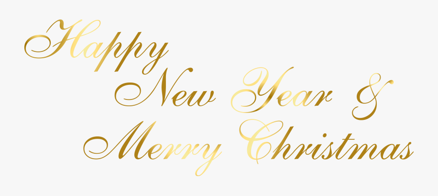 clip art merry christmas happy new year calligraphy free transparent clipart clipartkey clipartkey