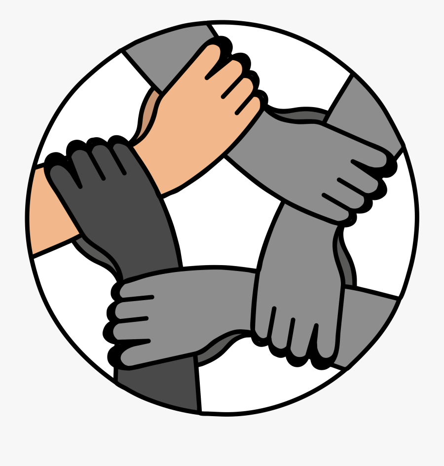 Fingers Clipart Hand Foot - United Hands Png, Transparent Clipart