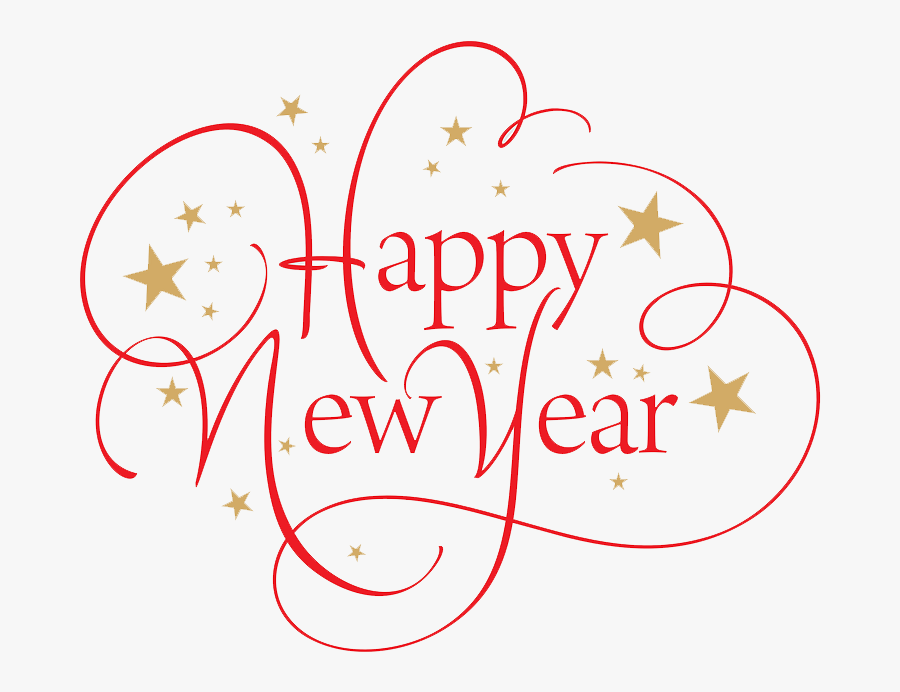 Happy New Year Text Png 44