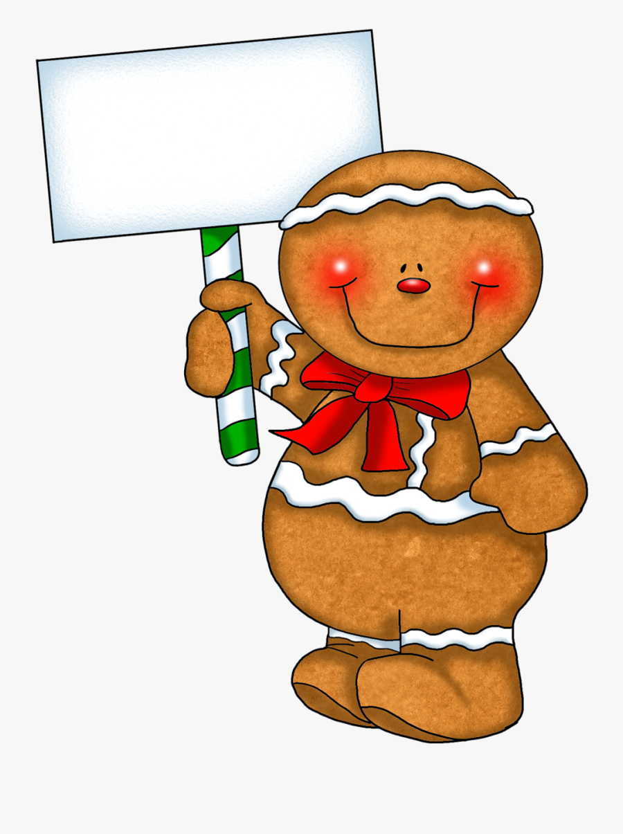 Gingerbread House Clipart Png Transparent Png , Png - Gingerbread Man Clipart, Transparent Clipart