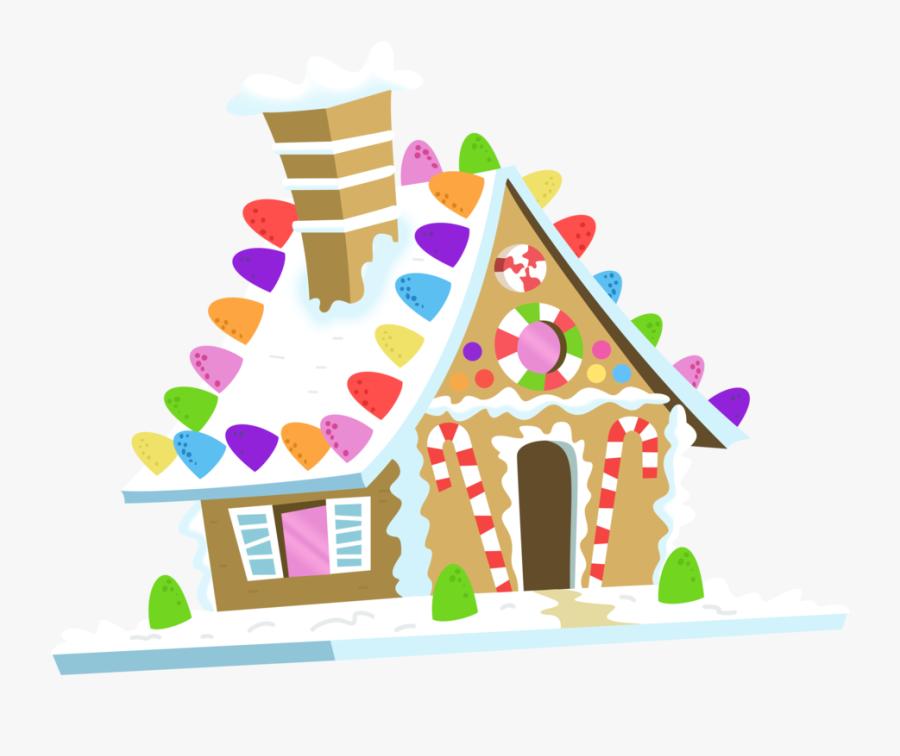 House Clipart Gingerbread Man - Gingerbread House Vector Art, Transparent Clipart