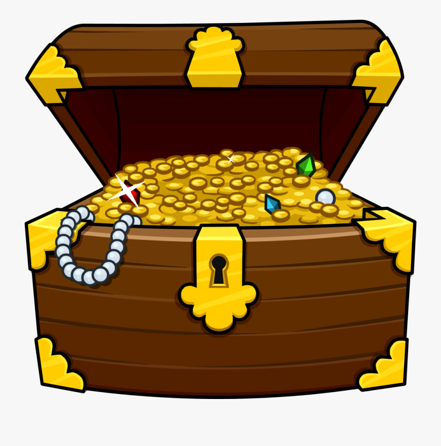 Free Treasure Chest Clipart The Cliparts - Treasure Chest Pirate Clipart, Transparent Clipart