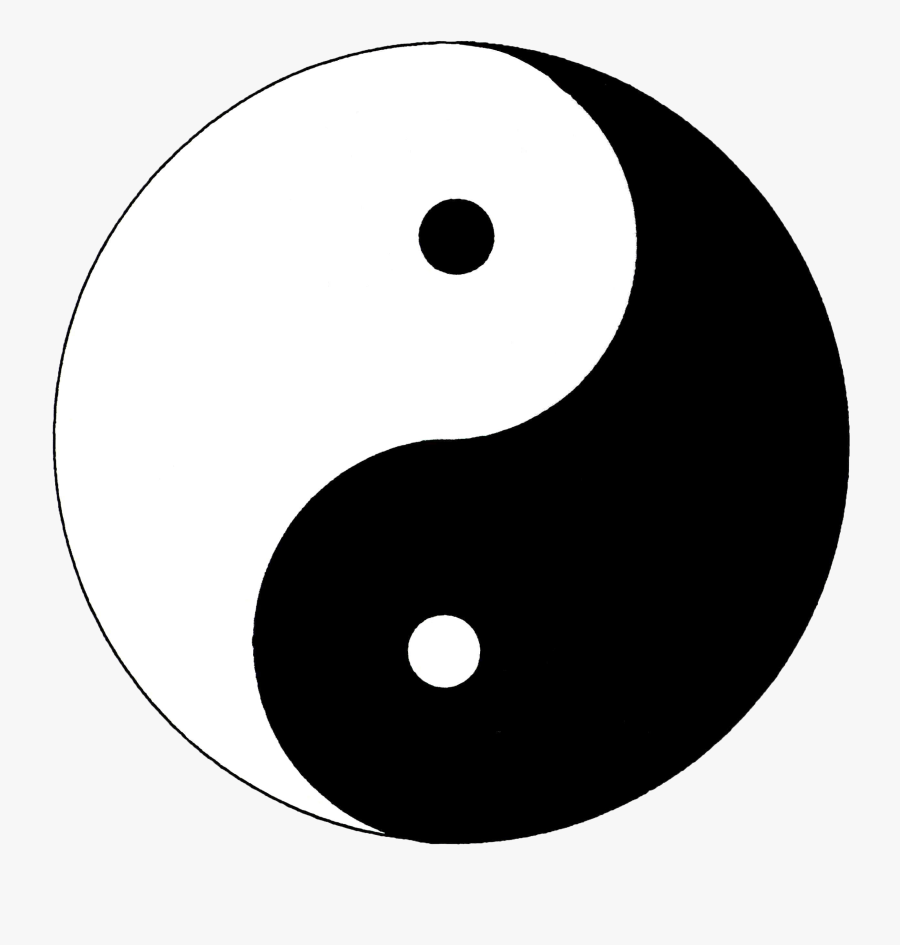 The Yin-yang Symbol Is A Constant Reminder That Life - Yin And Yang Png, Transparent Clipart