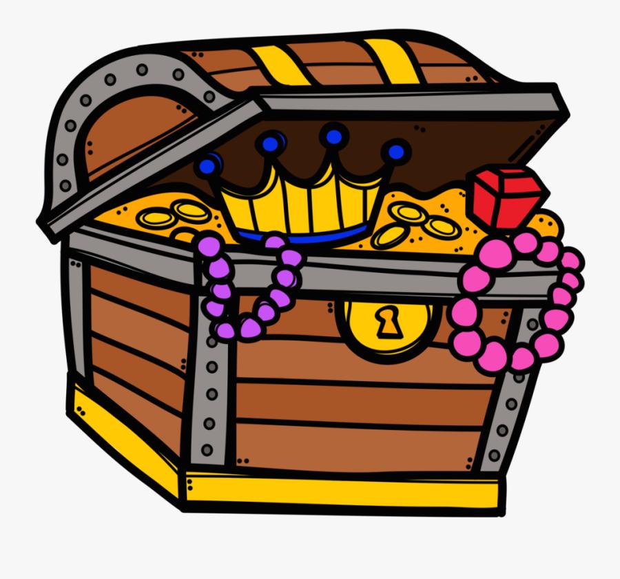 56512 - Treasure Chest Clip Art Png, Transparent Clipart