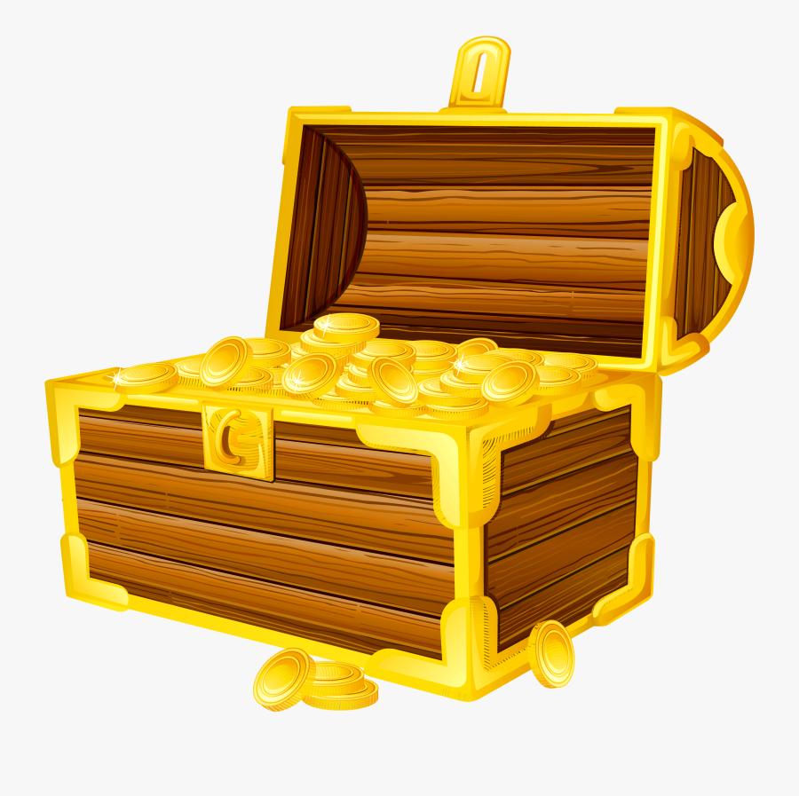 Clipart Treasure Chest Clipartfest - Treasure Chest Transparent Background, Transparent Clipart