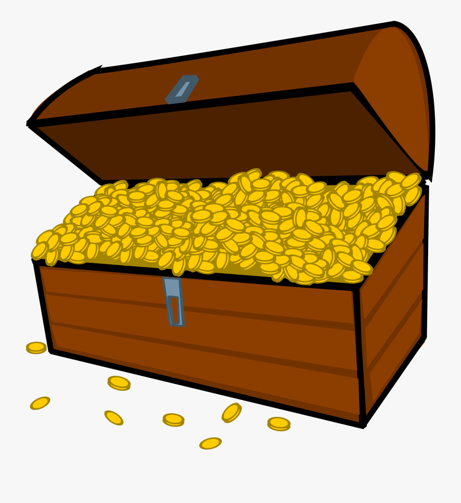 Treasure Chest Free To Use Clipart - Cartoon Treasure Chest Png, Transparent Clipart