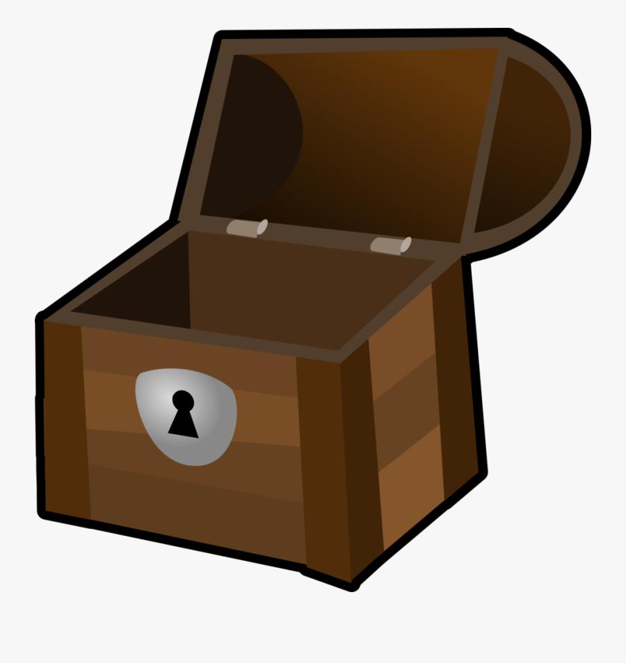 Treasure Chest Free Vector Graphic Chest Treasure Container - Open Treasure Chest Clipart, Transparent Clipart