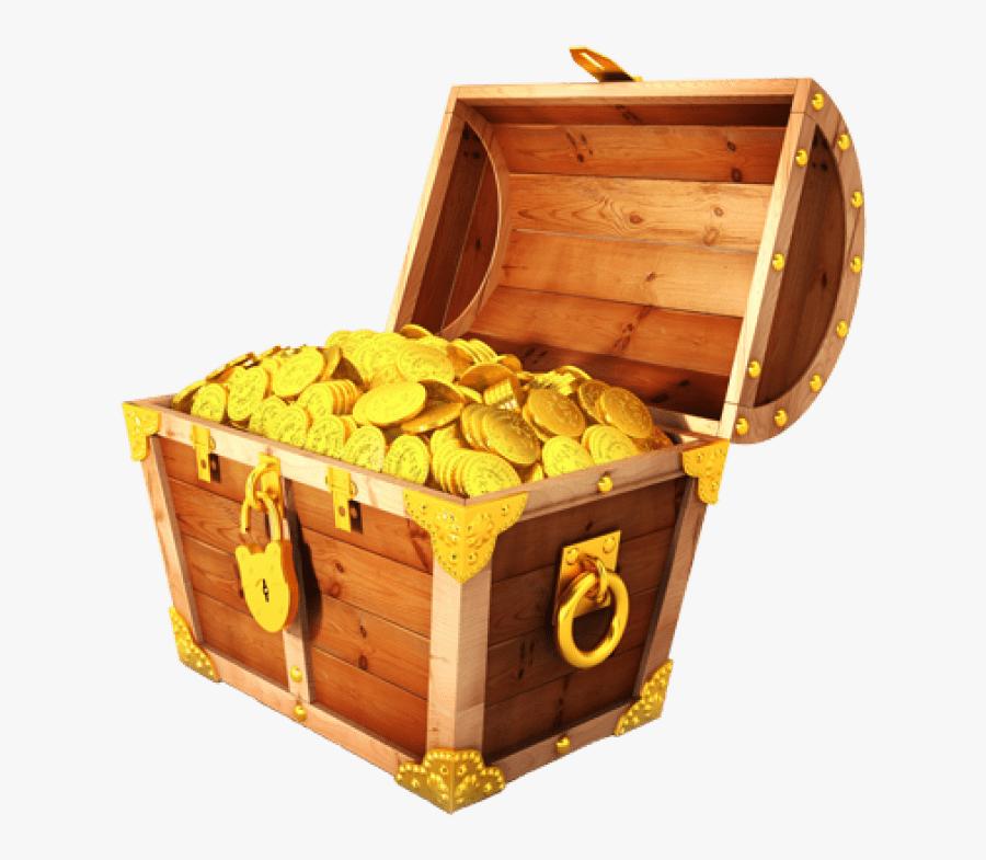 Free Treasure Chest Png - Transparent Treasure Chest Png, Transparent Clipart