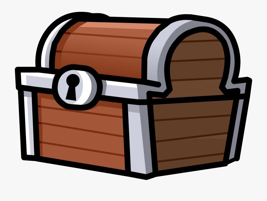 56552 - Treasure Chest Transparent Background, Transparent Clipart