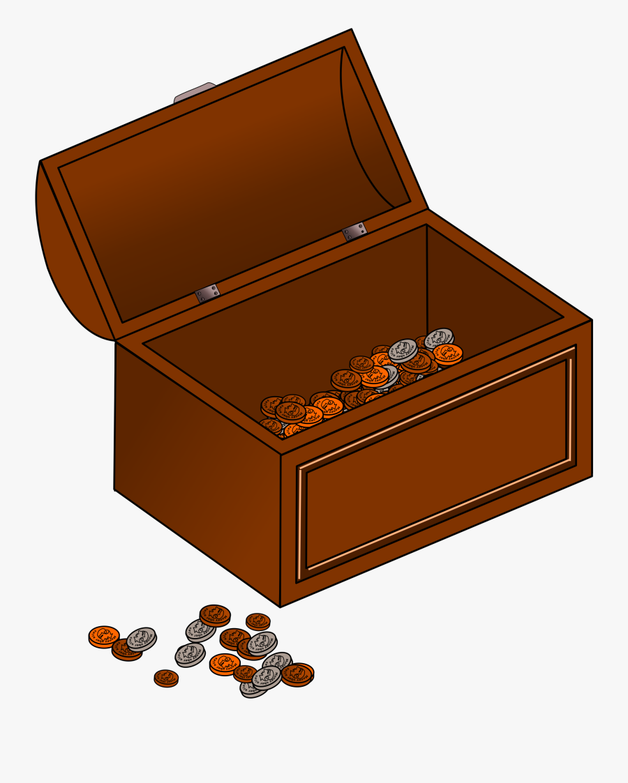 Treasure Chest Free To Use Cliparts - Treasure Chest Gif Transparent Background, Transparent Clipart
