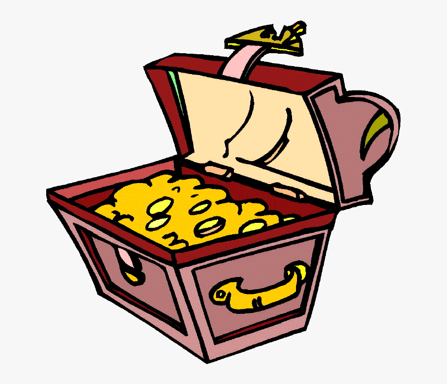 Treasure Chest Gif By Bpvogel - Treasure Chest Clipart Gif, Transparent Clipart