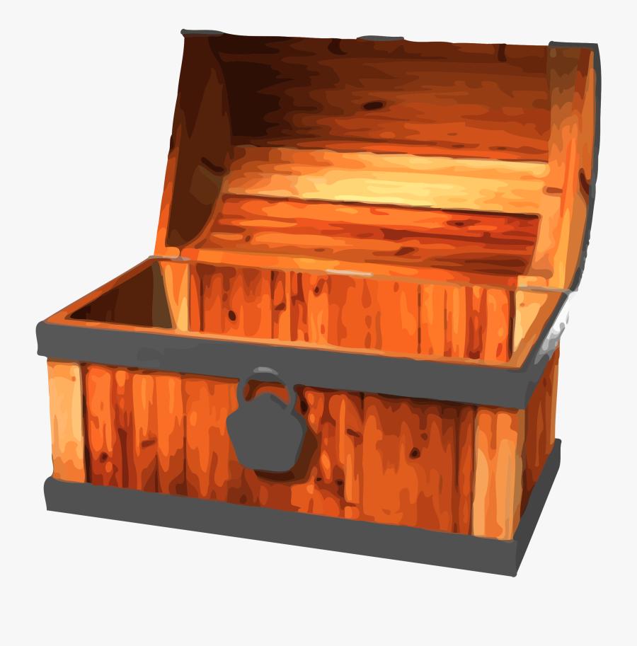Transparent Treasure Chest Clip Art - Open Treasure Chest Clipart, Transparent Clipart