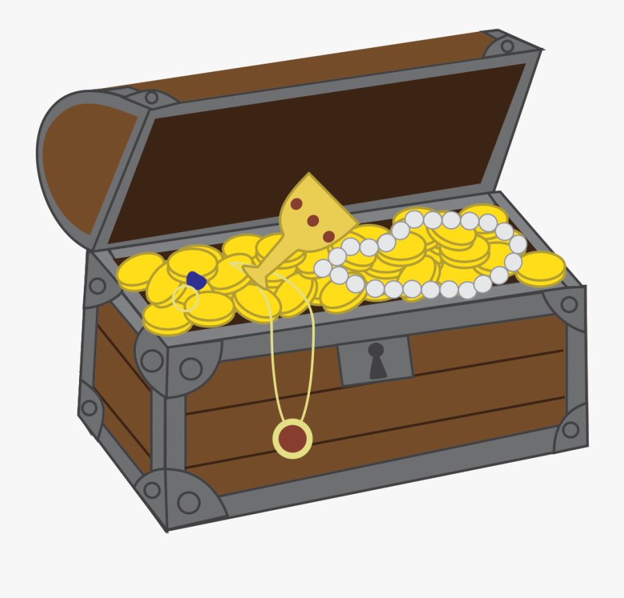 Transparent Chest Clipart - Animated Opened Treasure Chest, Transparent Clipart
