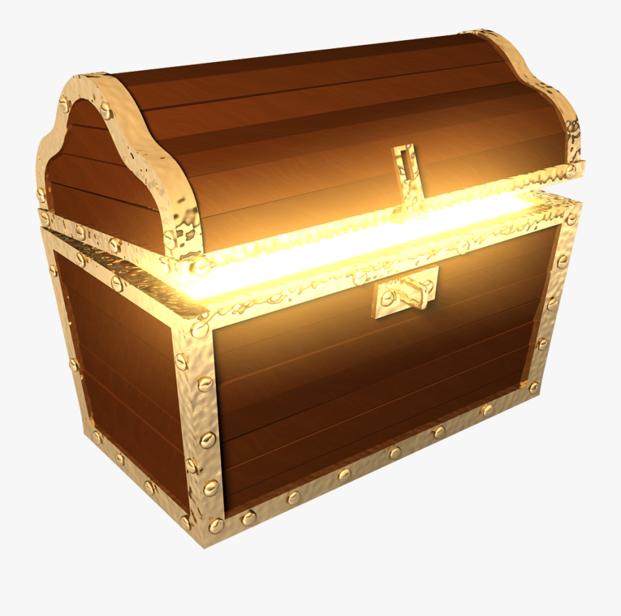 Treasure Chest Png - Transparent Background Treasure Chest Clipart, Transparent Clipart