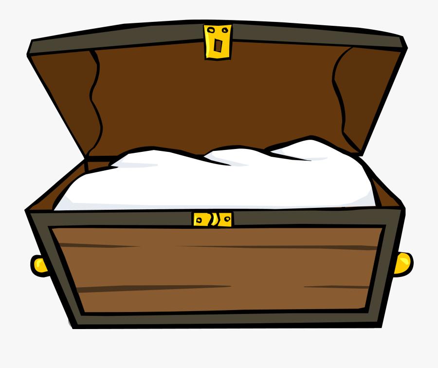 Treasure Chest Id 305 Sprite - Cartoon Treasure Chest Png, Transparent Clipart