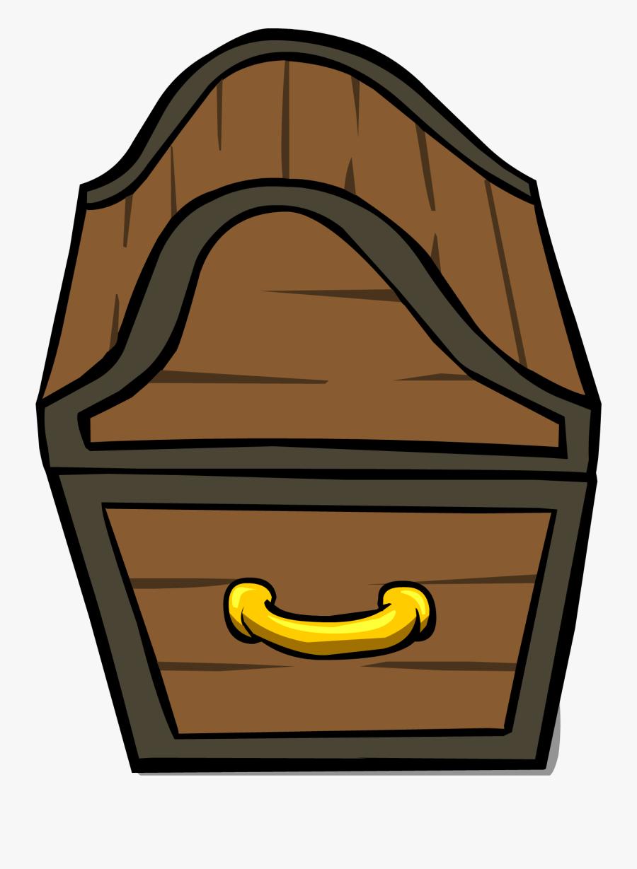 56554 - Treasure Chest Open Sprite, Transparent Clipart