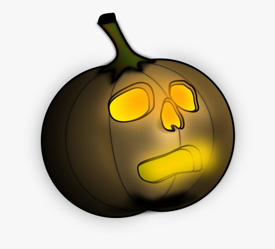 Pumpkin Jack O Lantern Clipart - Jack-o'-lantern, Transparent Clipart