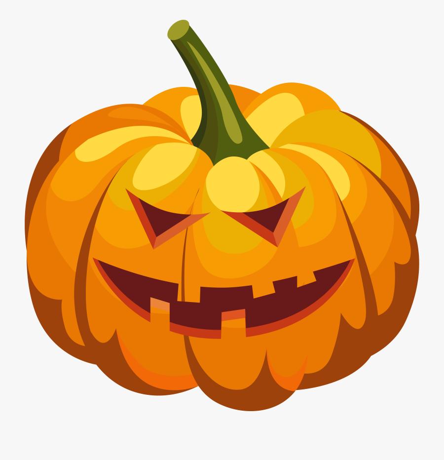 Halloween Scary Pumpkin Png, Transparent Clipart