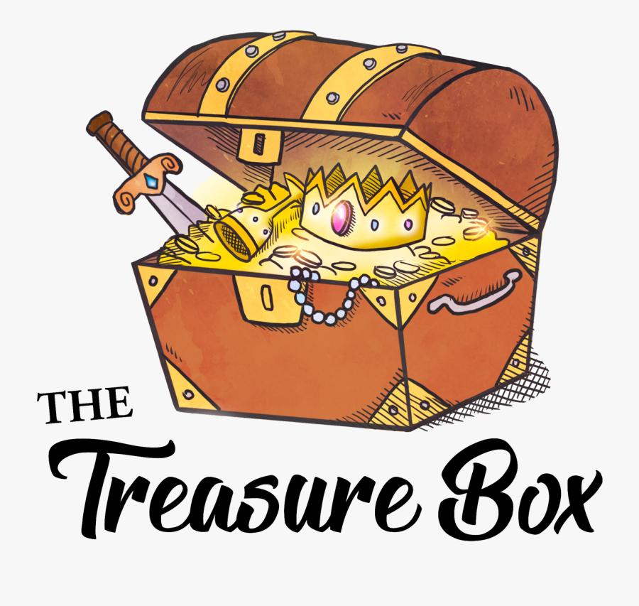 Treasure Box Clipart, Transparent Clipart