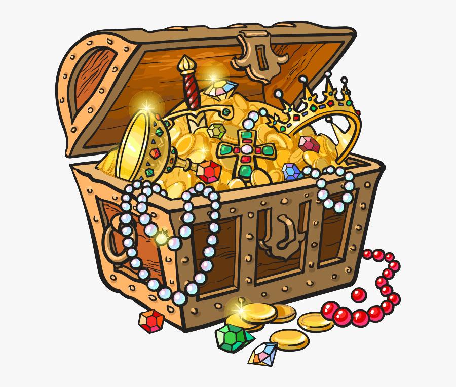 #treasure #pirate #treasurechest #chest #gold - Pirate Treasure Chest Clipart, Transparent Clipart