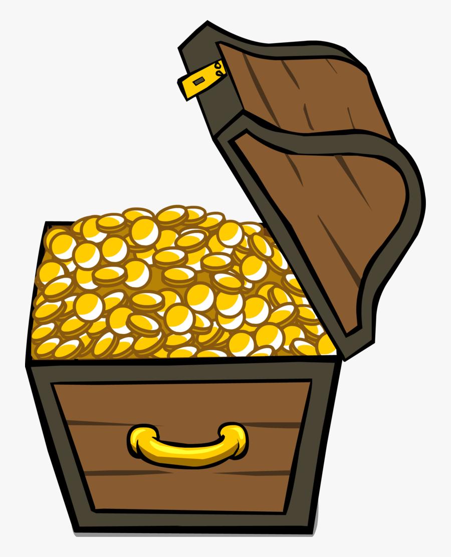 56553 - Treasure Chest For Sprites, Transparent Clipart