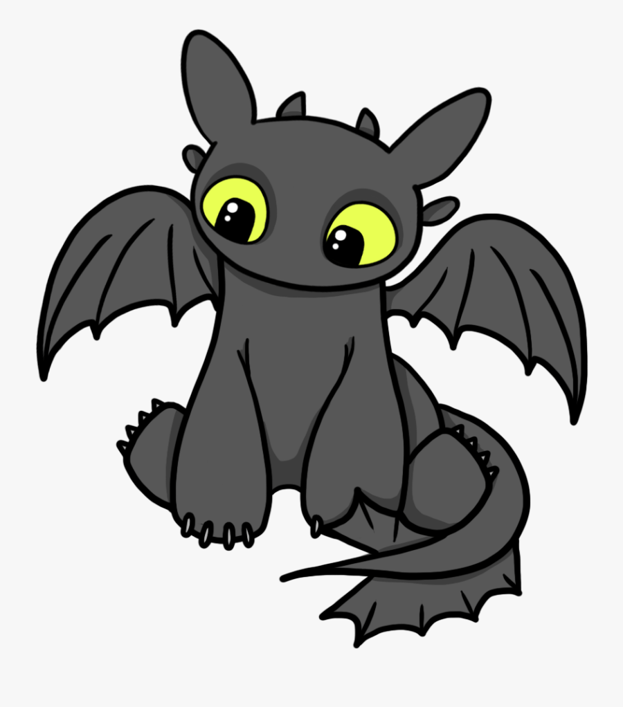 How To Train Your Dragon Clip Art Many Interesting - Toothless How To Train Your Dragon Cartoon, Transparent Clipart