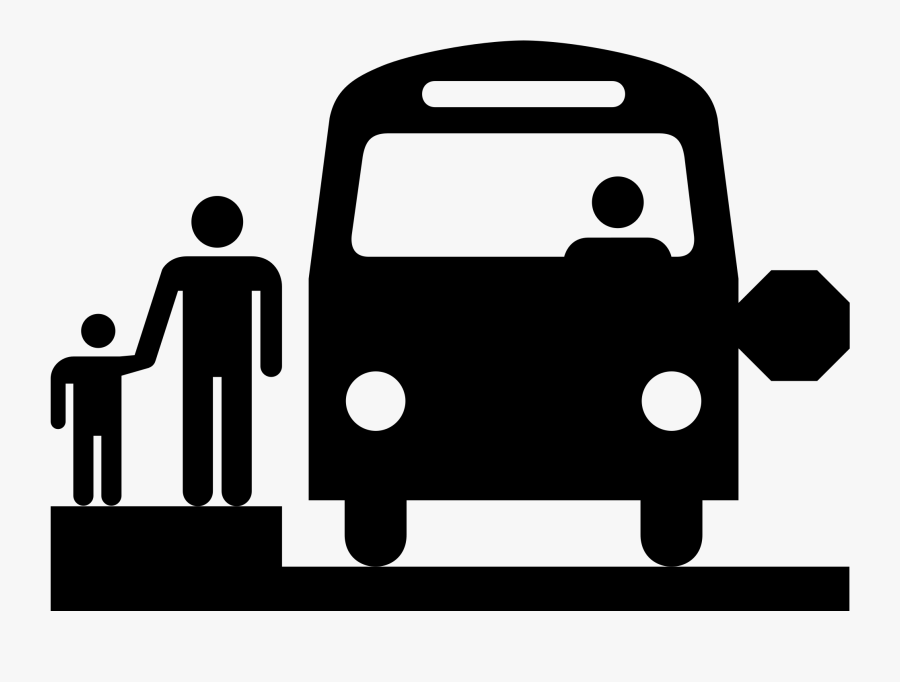 School Bus Stop Tips To Protect The Environment- - School Bus Stop Icon, Transparent Clipart
