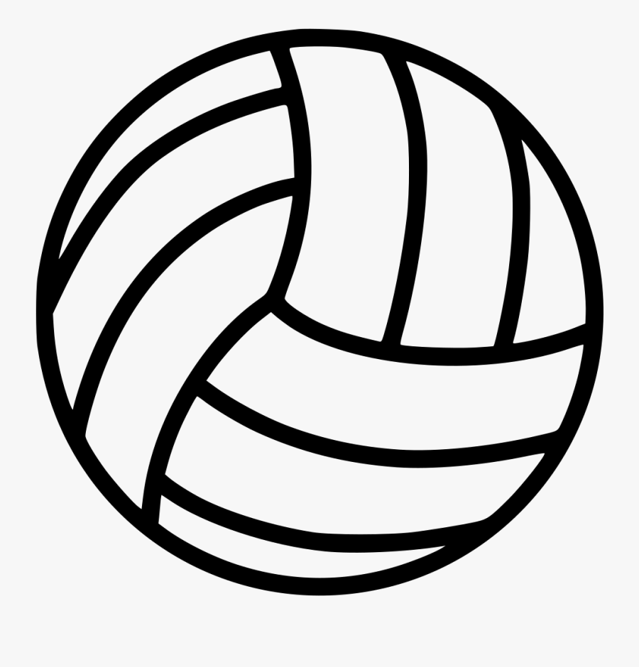 Clip Art Volleyball Vector Graphics Illustration Openclipart Volleyball Clipart No Background Free Transparent Clipart Clipartkey