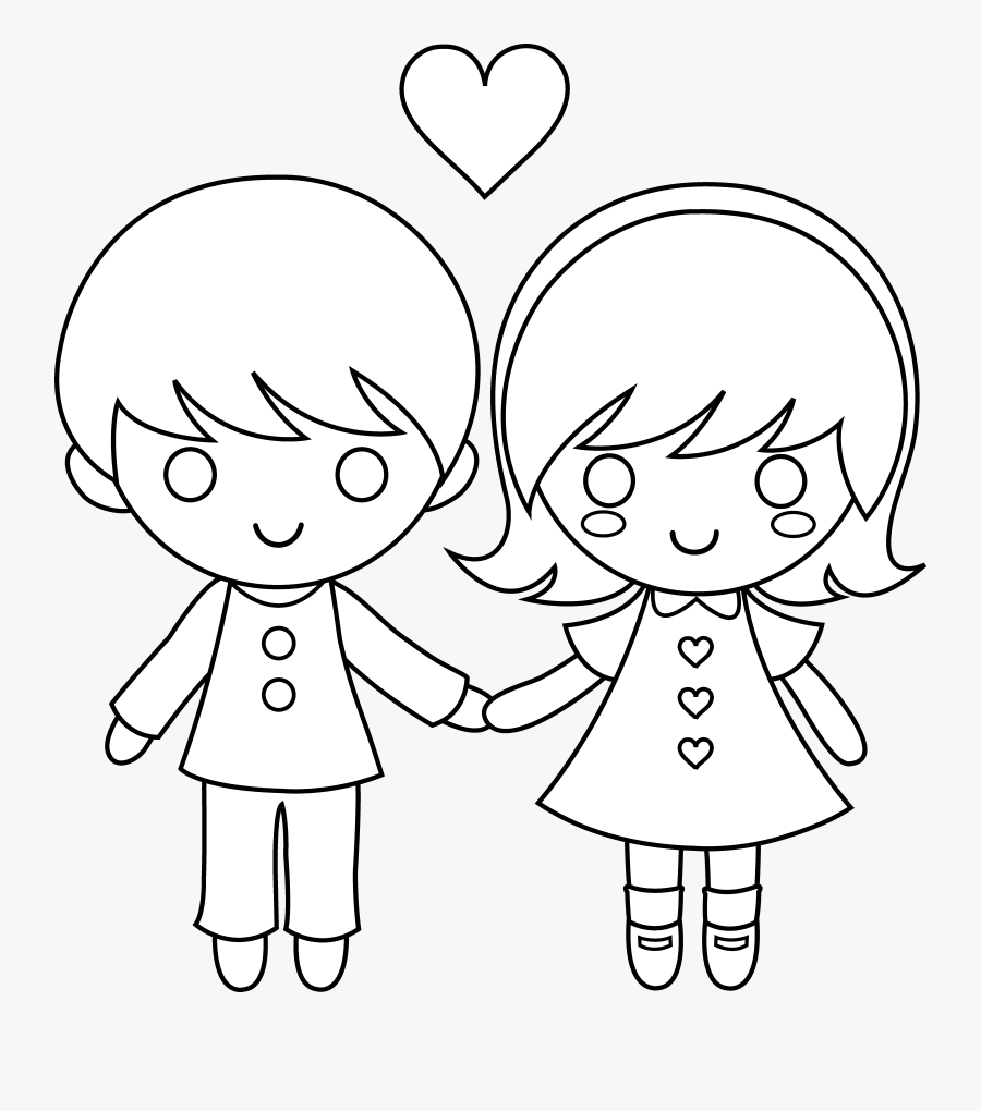 Child Clipart At Getdrawings Com Free For - Boy And Girl Holding Hands, Transparent Clipart