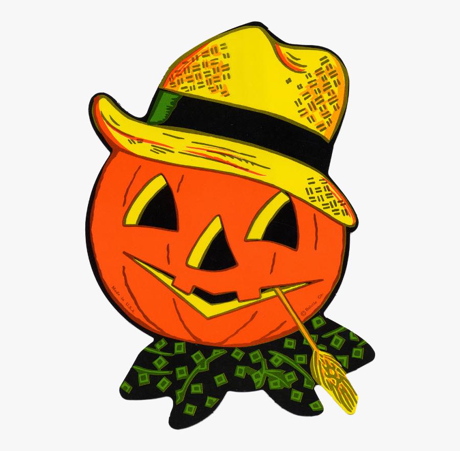 Halloween Goodies, Halloween Cards, Holidays Halloween, - Vintage Jack O Lantern Art, Transparent Clipart