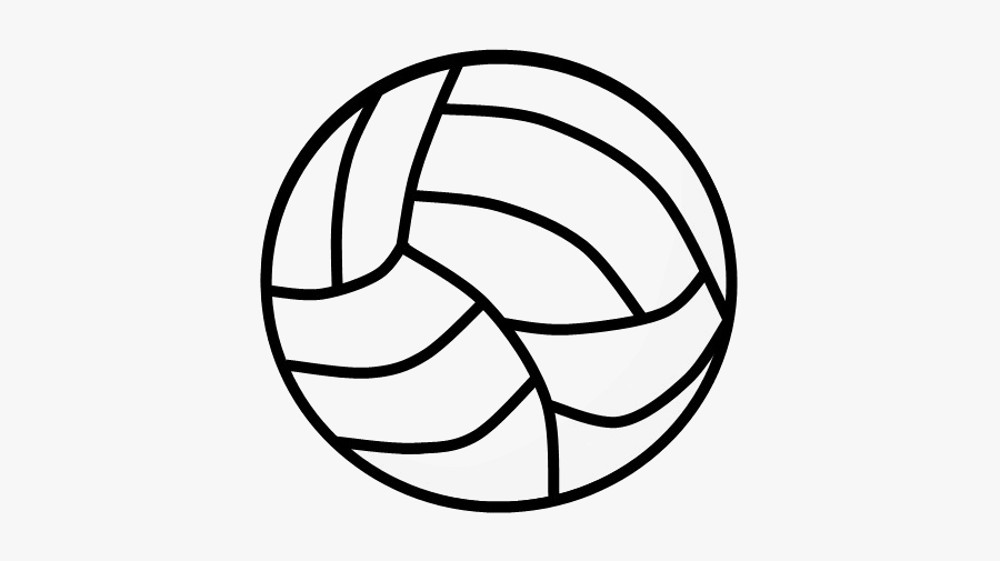Black Volleyball Png Photo - Volleyball, Transparent Clipart