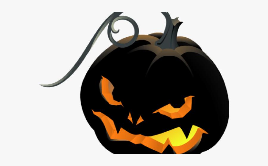 Creepy Jack O Lantern Clipart, Transparent Clipart