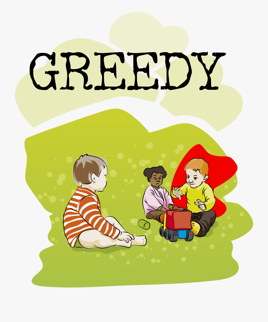 28 Collection Of Greedy Child Clipart - Greed Clipart, Transparent Clipart