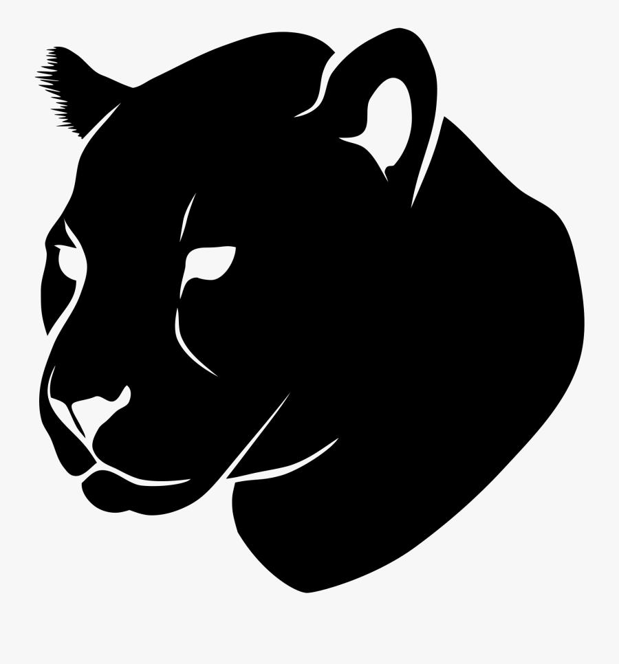 Ownload Lion Png Transparent - Jaguar Head Png, Transparent Clipart
