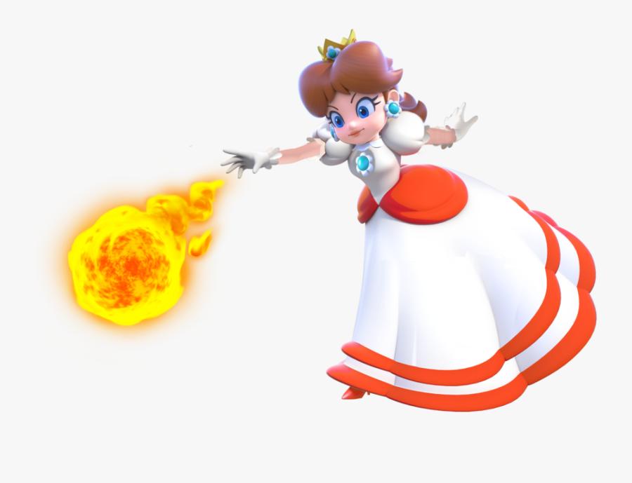 Fire Princess Peach Clipart Png Download Super Mario 3d