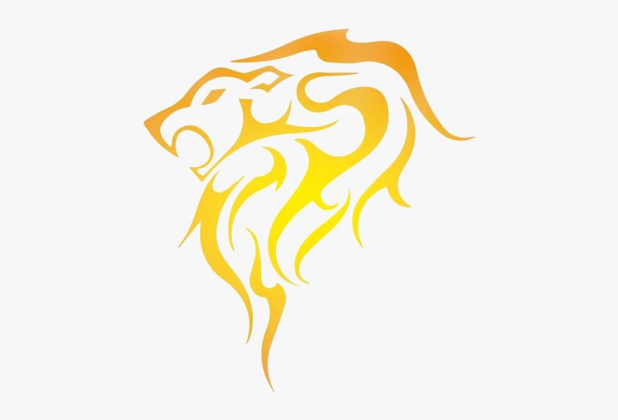 Tribal Panther Png Image Clipart - Stencil Design Of Lion, Transparent Clipart