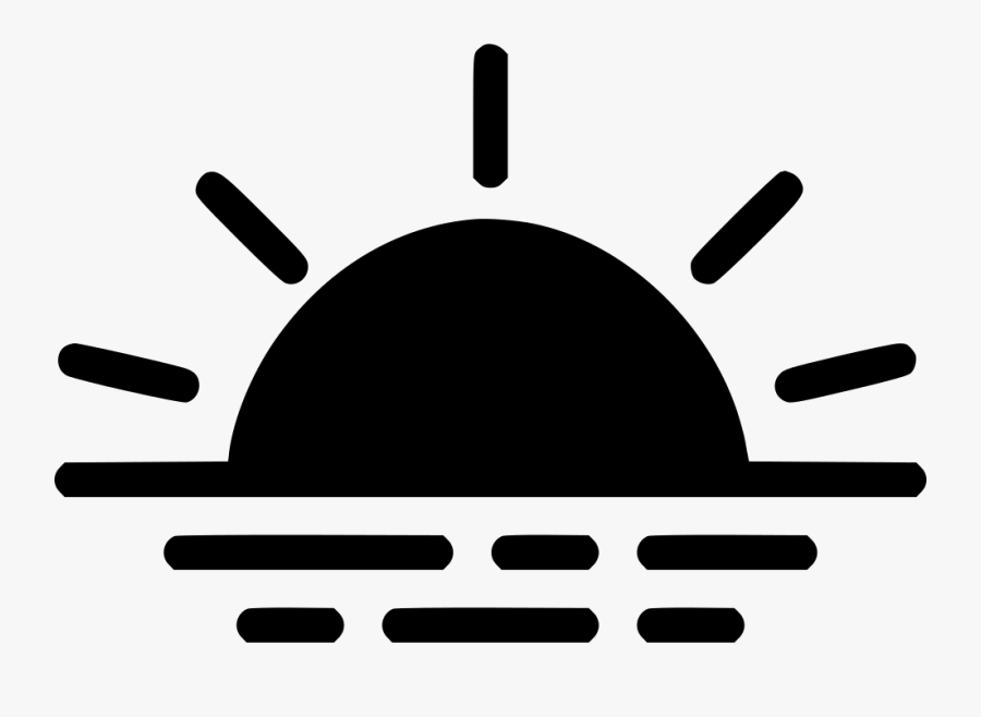 Transparent Sunrise Clipart - Icon Sunset Png, Transparent Clipart