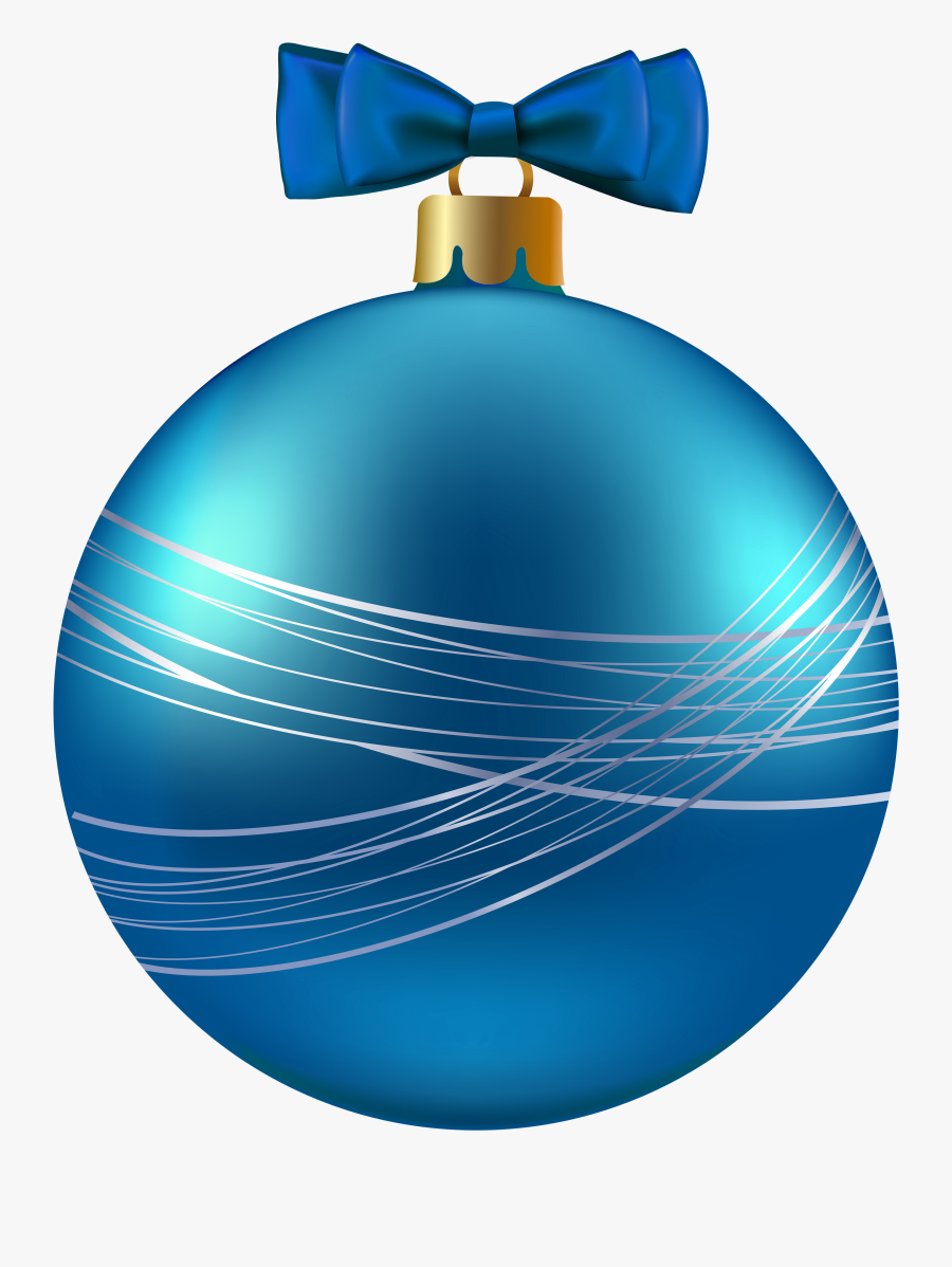 Blue Christmas Ornament Clipart Image Gallery Yopriceville - Blue Christmas Ornament Transparent, Transparent Clipart