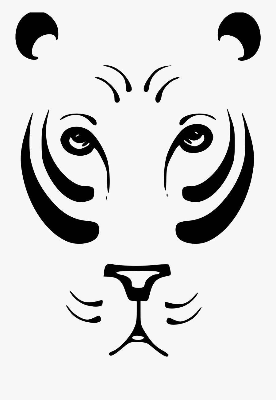 Lion Tiger Black Panther Drawing Clip Art Gambar Abstrak