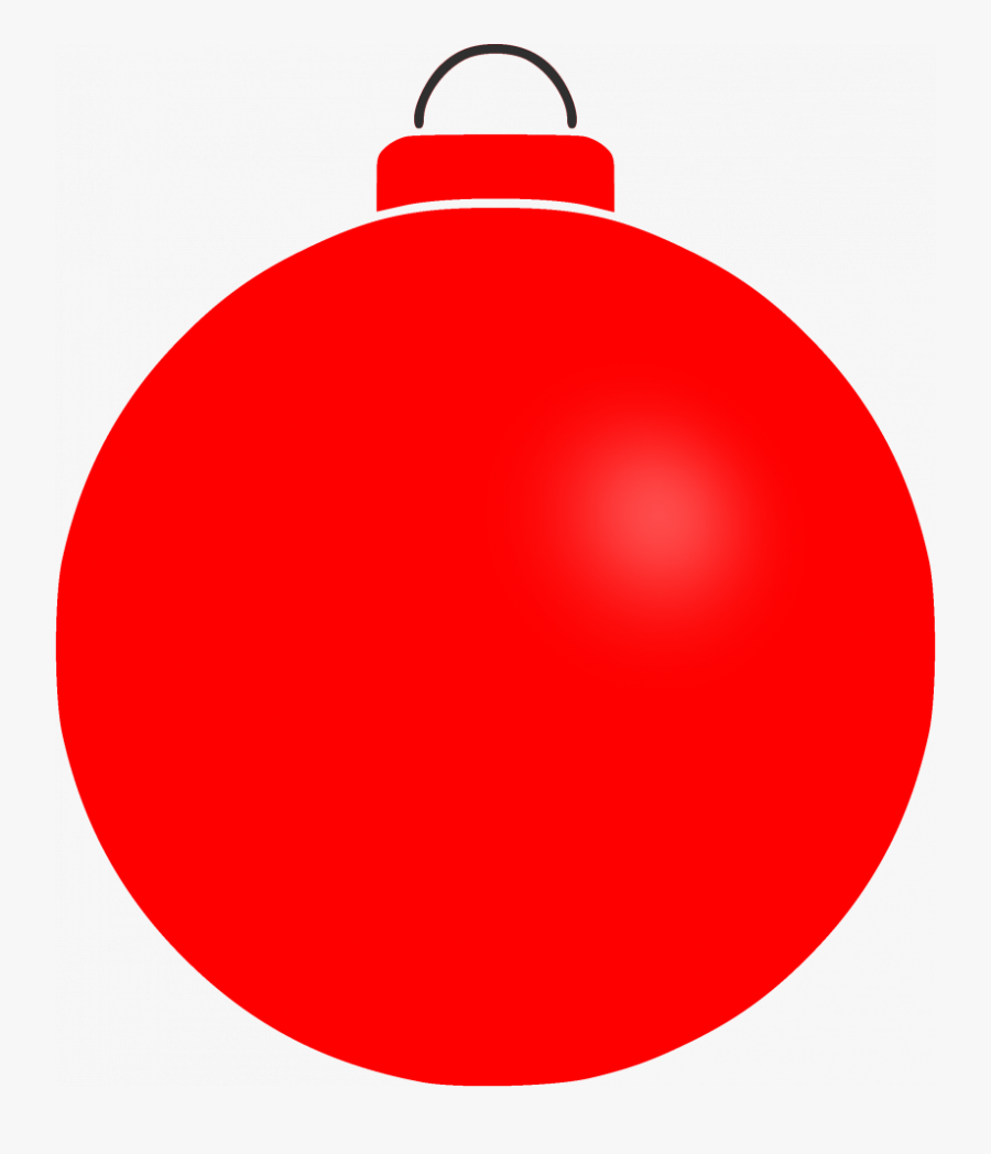 Transparent Free Christmas Ornament Clipart - Red Ornament Clip Art, Transparent Clipart