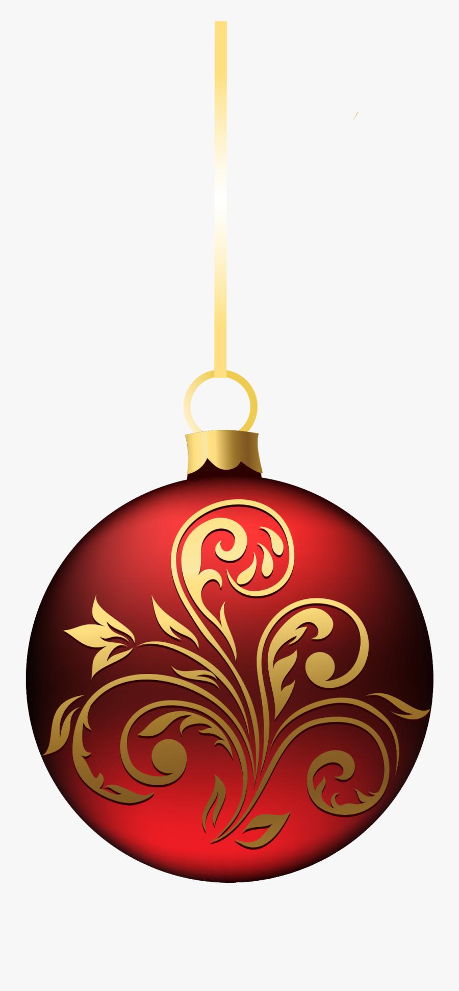 Christmas Decoration Png Transparent, Transparent Clipart