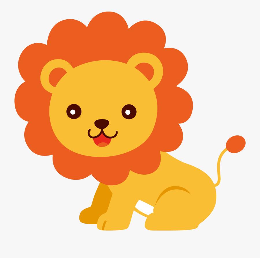 Ib Qub V Nhi - Cute Lion Clip Art, Transparent Clipart
