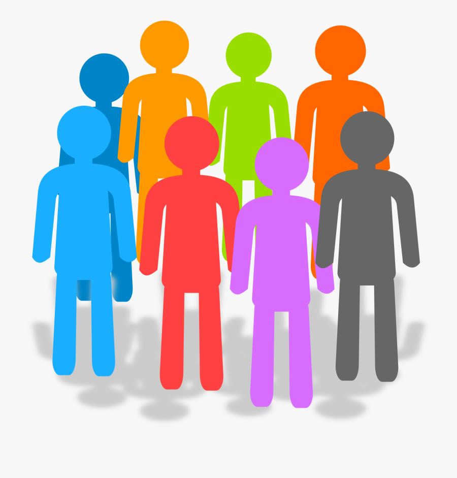 Clipart - Transparent Groups Of People, Transparent Clipart