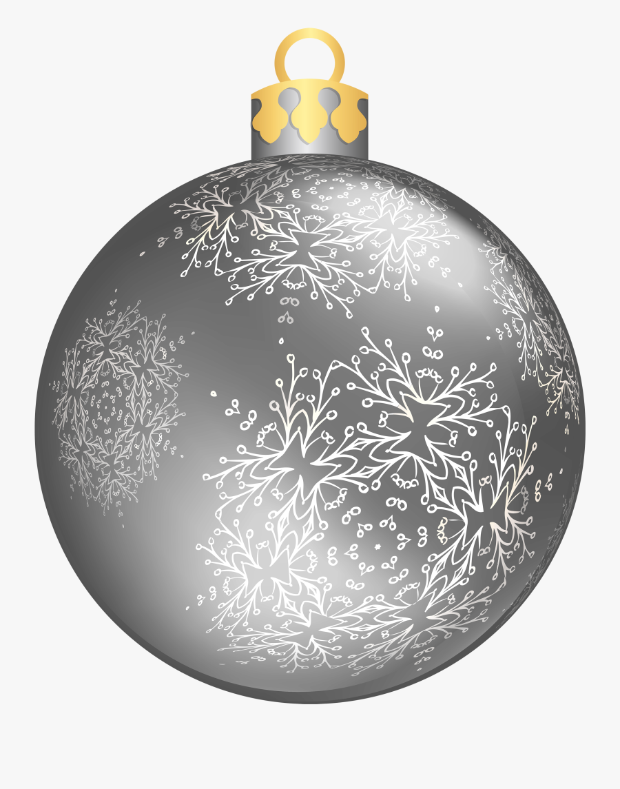 Christmas Ornament Cliparts For Free Ornaments Clipart - Silver Christmas Ball Png, Transparent Clipart