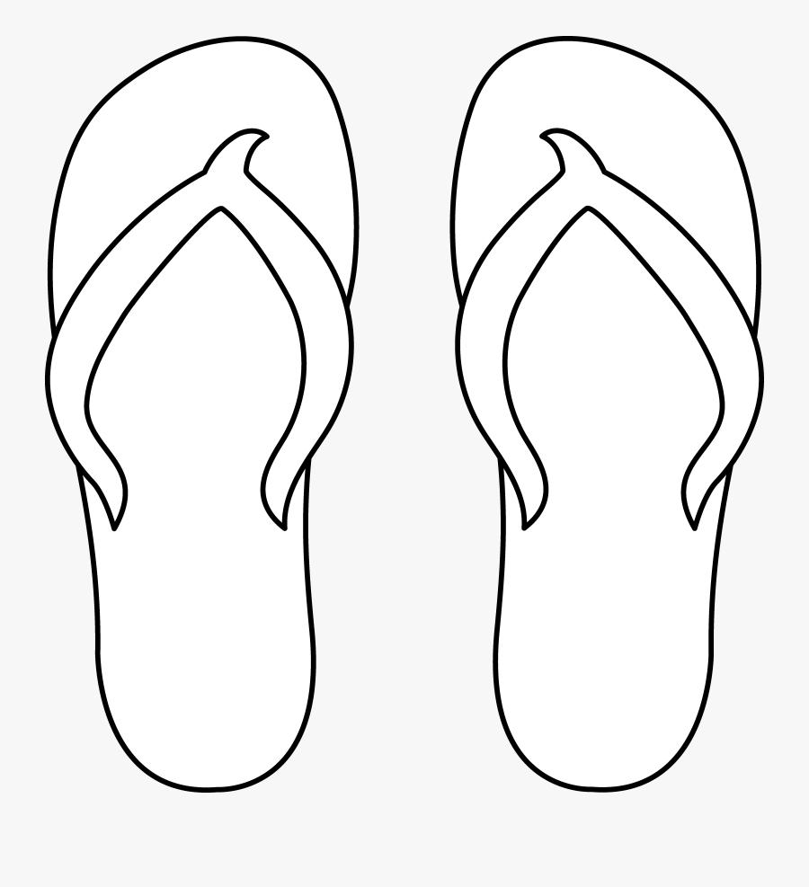 Op Womens Eyelit Eva Flip Flop Walmart Com ~ Wiring - Flip Flop Clipart Black And White, Transparent Clipart