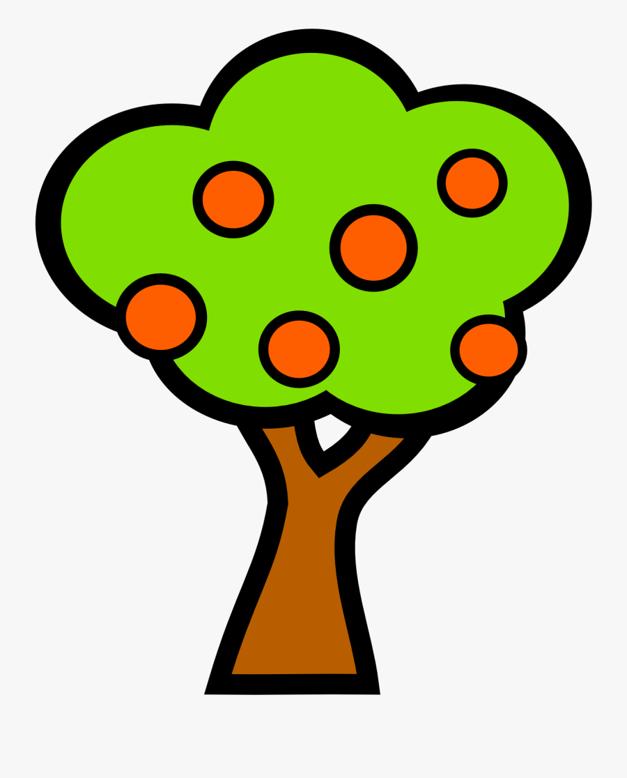 Baobab Fruit Clipart, Vector Clip Art Online, Royalty - Fruit Tree, Transparent Clipart