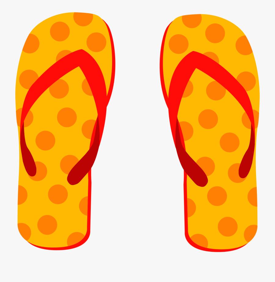 Clip Art Flip Flops, Transparent Clipart
