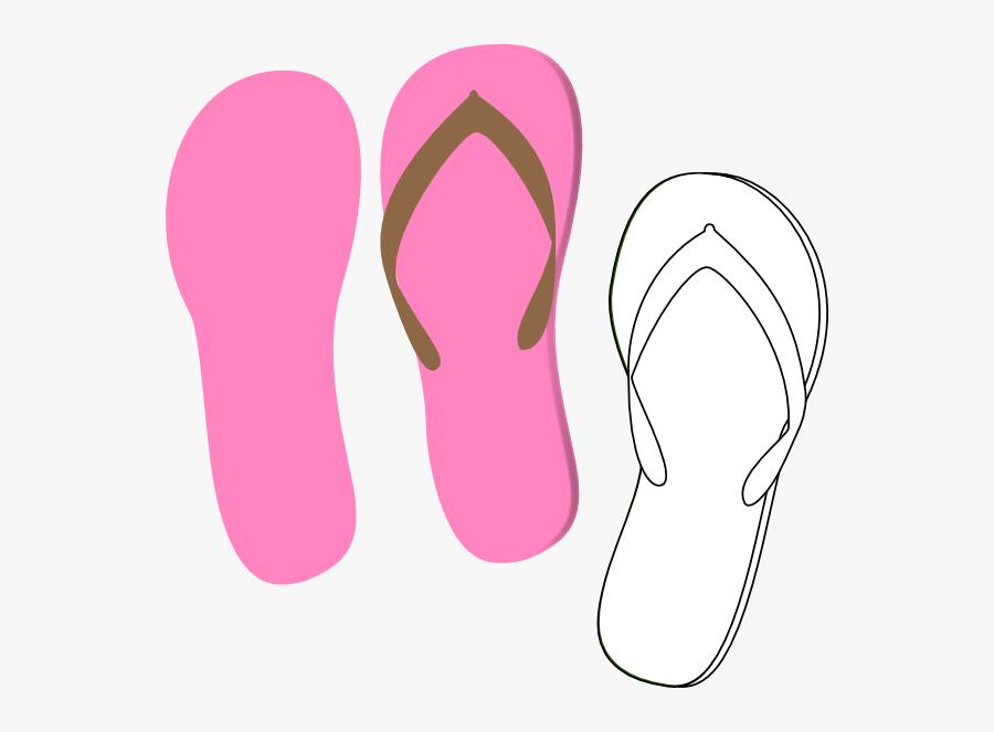 Single Flip Flop Clipart, Transparent Clipart