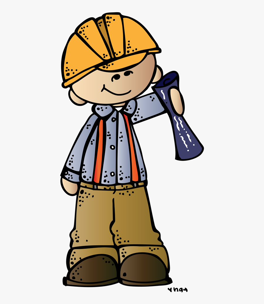 Engineer Boy Ssb Melonheadz Illustrating Llc 2014 Colored - Engineer Clipart Kids, Transparent Clipart